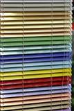 De zonneblinden van het aluminium royalty-vrije stock afbeeldingen
