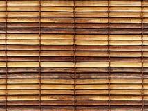 De zonneblinden van het bamboe Royalty-vrije Stock Foto