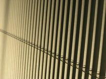 De zonneblinden van het venster Stock Afbeeldingen