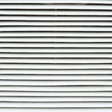 De zonneblindenfragment van het witmetaalvenster Royalty-vrije Stock Fotografie