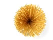 De zonnebloem van de spaghetti Stock Afbeelding