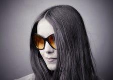 De zonnebril van de manier Stock Fotografie