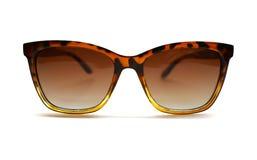 De zonnebril van de voorraadfoto die tegen een witte achtergrond wordt ge?soleerd royalty-vrije stock foto