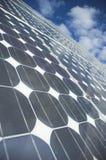 De zonnepanelen royalty-vrije stock foto