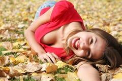 De Zonneschijn van de herfst royalty-vrije stock afbeelding
