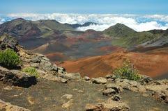 De Zonneschijn van de middag, Haleakala   royalty-vrije stock afbeelding