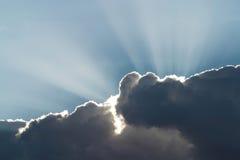 De Zonneschijn van Heavenâs stock afbeelding