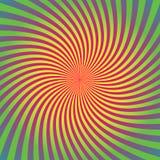 De zonnestraal, starburst achtergrondreeks, kleurrijke stralen, stralen, kleurde afwijking, draai, roes stock illustratie