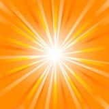 De zonnestraal van de zomer vector illustratie
