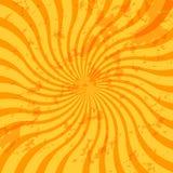 De zonnestraalwerveling van Grunge stock illustratie