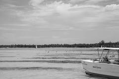De zonnige dag van Nice in Punta Cana, 01 05 13 Royalty-vrije Stock Fotografie