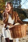 De zonnige herfst Royalty-vrije Stock Foto's