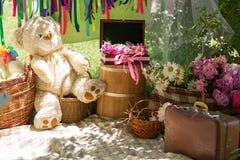 De zonnige Picknick van de Dag Royalty-vrije Stock Foto
