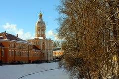 De zonnige winter dag i Royalty-vrije Stock Foto
