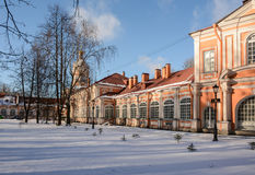 De zonnige winter dag i Royalty-vrije Stock Afbeelding
