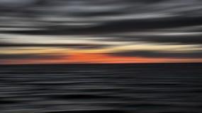 De zonsondergang bij Kaap mag, New Jersey Royalty-vrije Stock Afbeeldingen