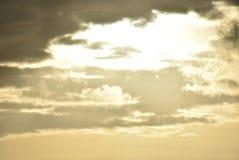 De zonsondergang van Boracay Royalty-vrije Stock Afbeelding