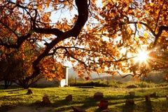 De zonsondergang van Cederberg Stock Foto