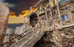 De Zonsondergang van de Berg van de donder Stock Fotografie
