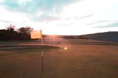 De zonsondergang van de Cleeveheuvel Royalty-vrije Stock Afbeelding