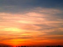 De zonsondergang van de wolk Royalty-vrije Stock Fotografie