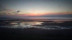 De zonsondergang van de zonsondergangzonsondergang Stock Fotografie