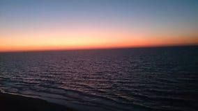 De Zonsondergang van Egypte Stock Afbeeldingen