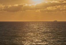De zonsondergang van Florida Stock Fotografie