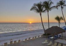 De zonsondergang van Florida Stock Afbeeldingen