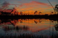 De zonsondergang van Florida Royalty-vrije Stock Fotografie