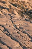 De zonsondergang van het diamantstrand stock foto