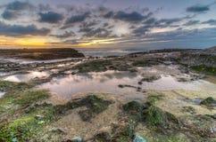 De zonsondergang van het Laguna Beach Royalty-vrije Stock Foto's