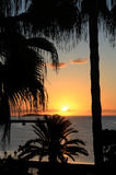 De Zonsondergang van Ibiza Royalty-vrije Stock Foto