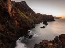 De zonsondergang van Pontode vista Stock Afbeeldingen