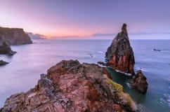 De zonsondergang van Pontode vista Royalty-vrije Stock Fotografie