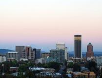 De Zonsondergang van Portland Royalty-vrije Stock Foto's