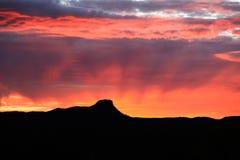 De Zonsondergang van Prescott Royalty-vrije Stock Fotografie