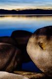 De Zonsondergang van Tahoe royalty-vrije stock fotografie