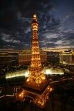 De Zonsondergang van Vegas Stock Afbeeldingen