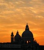 De zonsondergang van Venetië Royalty-vrije Stock Foto's