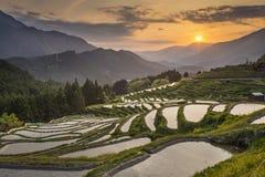 De zonsondergang van Yunnanchina Royalty-vrije Stock Foto's