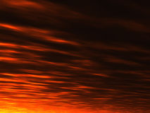 De zonsondergangachtergrond van de zomer royalty-vrije illustratie