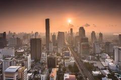 De zonsopgang van Bangkok Royalty-vrije Stock Fotografie