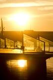 De zonsopgang van Barcellona Royalty-vrije Stock Afbeelding