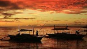 De zonsopgang van Bohol stock videobeelden