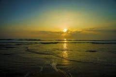 De zonsopgang van Daytona Beach Stock Foto's