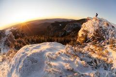 De zonsopgang van de fototijd ot Royalty-vrije Stock Afbeelding