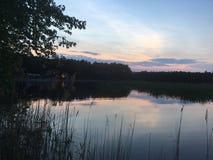 De zonsopgang van de kampjam stock fotografie