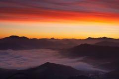 De zonsopgang van de winter Royalty-vrije Stock Foto