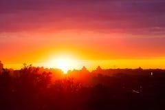 De zonsopgang van de zomer royalty-vrije stock fotografie